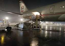 UAE sends plane carrying 50 metric tonnes of food supplies to Bangladesh