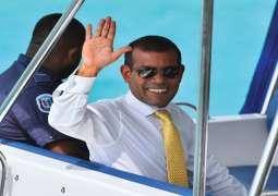 اصابة رئیس المالدیف السابق محمد نشید اثر تفجیر خارج منزلہ فی العاصمة