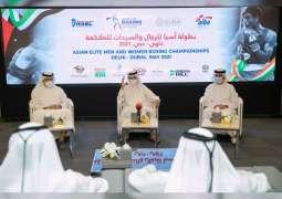 دبي تستضيف بطولة آسيا للرجال والسيدات للملاكمة 21 مايو الجاري