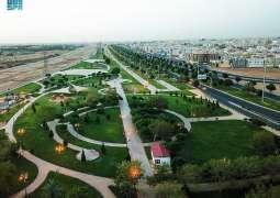 أمانة تبوك تنهي استعدادها لاستقبال عيد الفطر بتزيين الشوارع و تجهيز الحدائق والمتنزهات