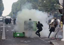 Greek Police Use Tear Gas Against Pro-Palestine Protesters Outside Israeli Embassy