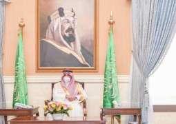 سمو أمير منطقة تبوك يستقبل المهنئين بعيد الفطر المبارك