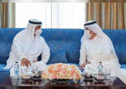 Mohamed bin Zayed exchanges Eid greetings with Ruler of Umm Al Qaiwain