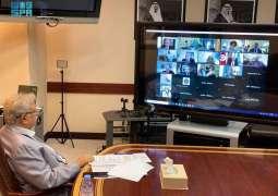 السفير المعلمي يشارك في إجتماع المجموعة العربية في نيويورك