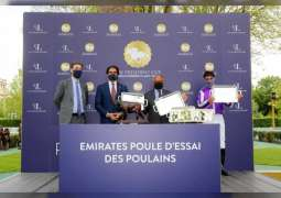 Hattal of Yas Horse Racing Management wins UAE President's Cup World Series for Purebred Arabian Horses in France
