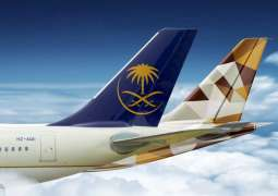 Etihad Airways, SAUDIA launch 'earn and burn' partnership