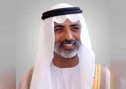 نهيان بن مبارك : المجتمع الإماراتي يترجم التنوع الثقافي على أرض الواقع