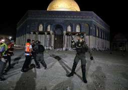 Israeli Police Use Tear Gas to Disperse Palestinians Amid Clashes at Al-Aqsa Mosque