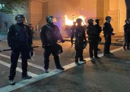 Portland Police Detain 5 People After Riots on Anniversary of Floyd's Death