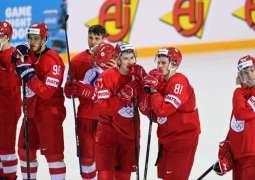Russian Ice Hockey Team Defeats Denmark 3-0 at World Championship in Riga