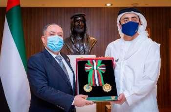President confers Medal of Independence on Jordanian Ambassador