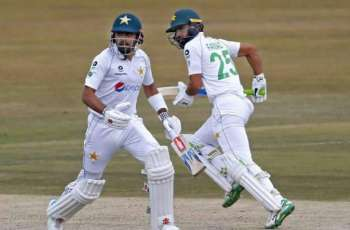 Pakistan scores 72 for one till lunch break on day one of 2nd Test against Zimbabwe