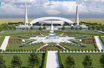 صدور موافقة خادم الحرمين الشريفين على بناء مشروع جامع خادم الحرمين في الجامعة الإسلامية العالمية بباكستان