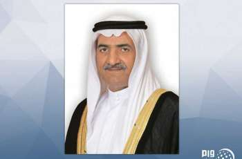 حاكم الفجيرة يهنئ رئيس الدولة ونائبه ومحمد بن زايد والحكام بعيد الفطر السعيد