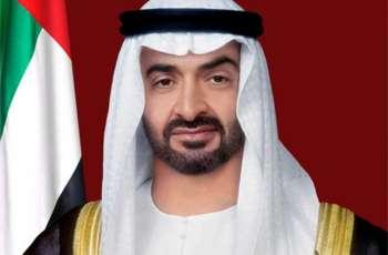 محمد بن زايد يتبادل التهاني بعيد الفطر مع قادة الدول الشقيقة