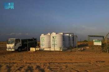 مركز الملك سلمان للإغاثة يواصل تنفيذ مشروع الإمداد المائي والإصحاح البيئي بمحافظتي حجة وصعدة
