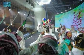 انطلاق الحفل الرسمي لعيد عنيزة 1442هـ