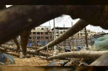 إعصار قوي يضرب الهند