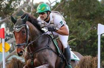 Rider Usman Khan is out of danger but his horse died during Olympic qualifier