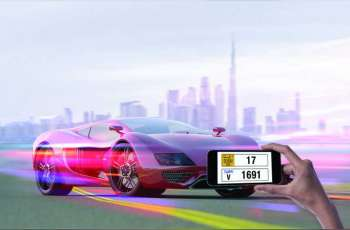 RTA to auction 350 premium plates of 2, 3, 4 and 5 digits