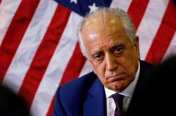 Khalilzad Says Russia, China on Same Page With US Regarding Afghanistan Peace Process