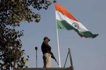 Indian Military Hoists National Flag at Security Post in Jammu and Kashmir