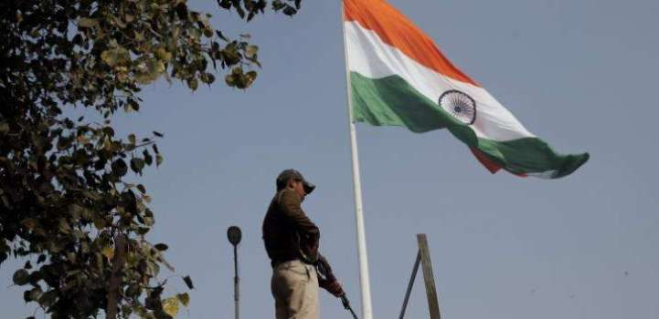 Indian Military Hoists National Flag at Security Post in Jammu an ..