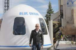 Bezos' Blue Origin Opens Bidding for Seat on First Space Tourism Flight