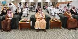 سمو أمير منطقة الرياض يرعي حفل ختام  أعمال ملتقى خط الوحيين الشريفين