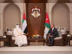 Mohamed bin Zayed, King Abdullah ll of Jordan discuss enhancing relations