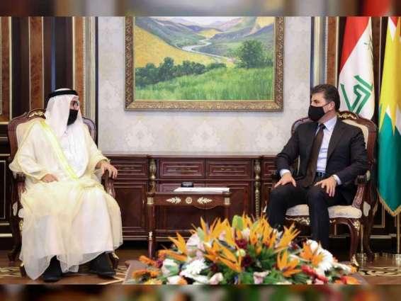 رئيس إقليم كردستان العراق يستقبل قنصل عام الدولة