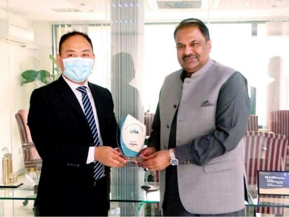 Vice President Public Affairs of Huawei Middle East Visits PTA
