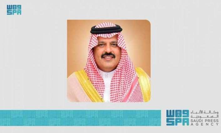 سمو أمير منطقة حائل يوجه باستمرار العمل أثناء إجازة عيد الفطر المبارك
