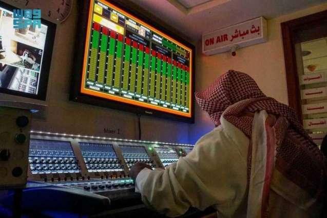 أكثر(٧٥٠٠) سماعة لنظام الصوت في المسجد الحرام