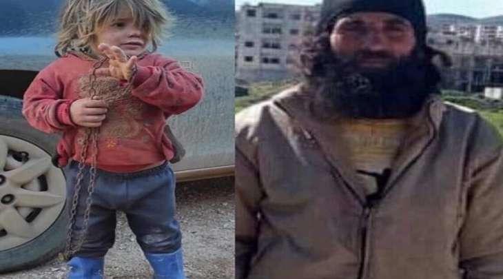 أب سوري یقید طفلتھا بالسلاسل و سجنھا بقفص حتی الموت
