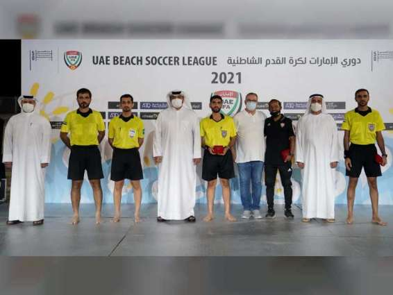 شباب الأهلي 1 بطلا لدوري الإمارات لكرة القدم الشاطئية