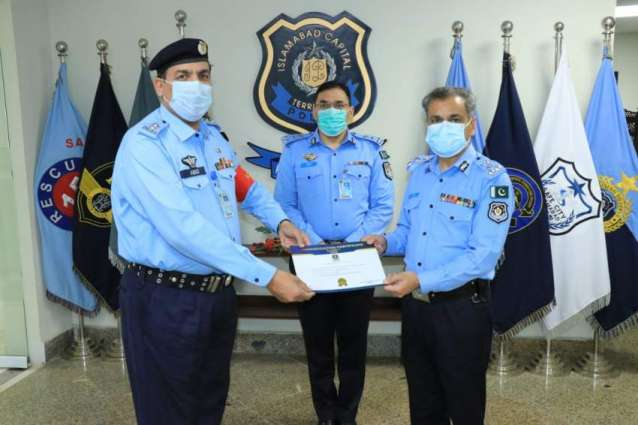 IG Islamabad appreciates performance of staff posted at Service Centre