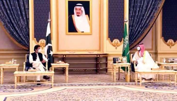PM Khan, Saudi Crown Prince Mohammad Bin Salman affirm commitment to deepen existing bilateral ties