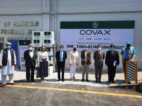 The United States Welcomes The Arrival Of 1.2 Million Covid-19 Vaccines From Covax