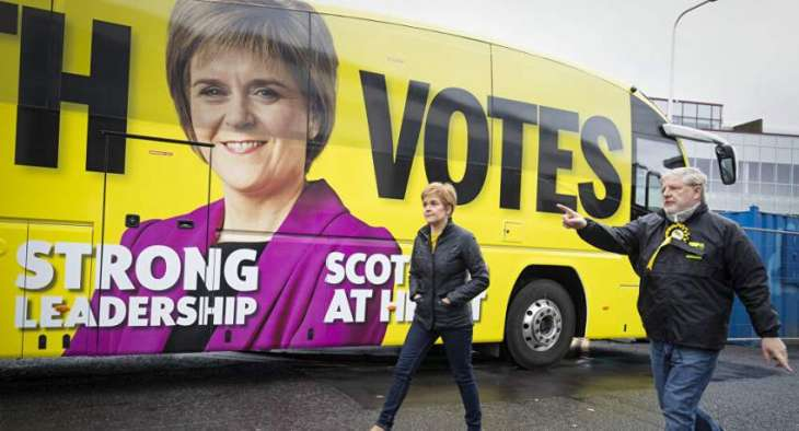 Pro-Independence SNP Party Heading for Win in Scottish Parliament Elections