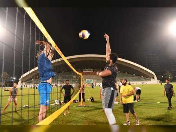 "شرطة دبي تختتم فعاليات مهرجان  ""كن رياضيا"""