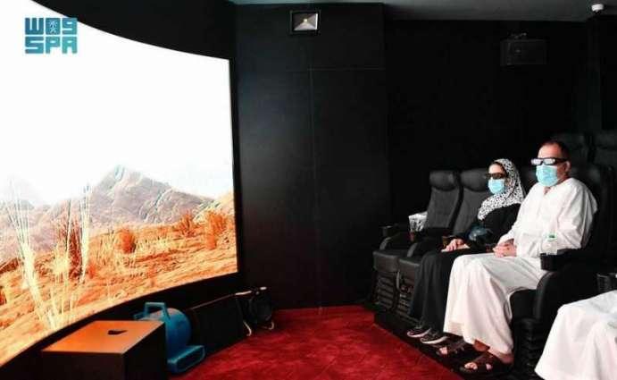 المديرالتنفيذي لهيئة الإعلام والاتصالات بجمهورية العراق يزور المتحف الدولي للسيرة النبوية بالمدينة المنورة