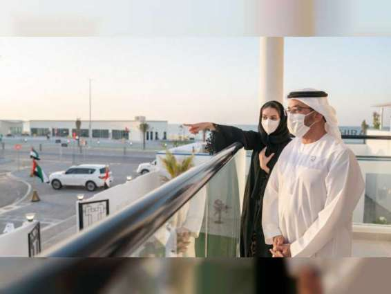 Hamdan bin Zayed launches 'Al Mughira Housing Complex' in Al Dhafra Region