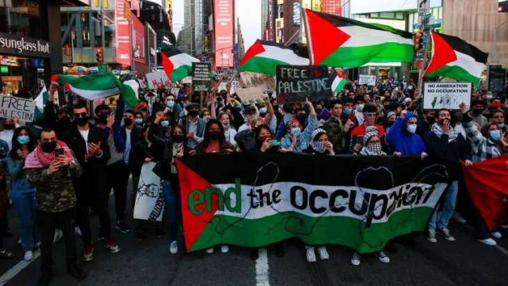 Hundreds of South Africans Walk Out in Solidarity With Palestinians