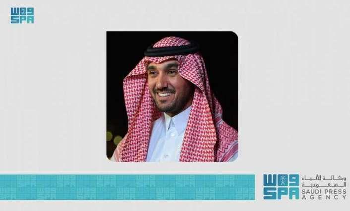 سمو وزير الرياضة يُهنئ القيادة بمناسبة حلول عيد الفطر المبارك