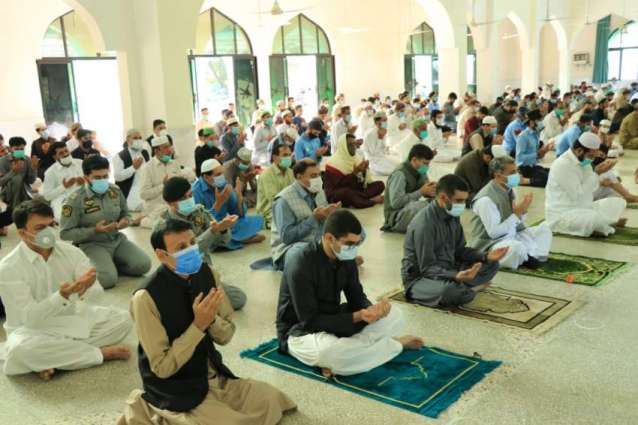 IG offers Eid prayer at Police Lines Headquarters