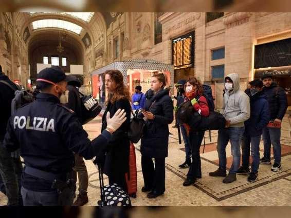 """إيطاليا: 140 وفاة و3455 إصابة جديدة بـ """"كورونا"""""""