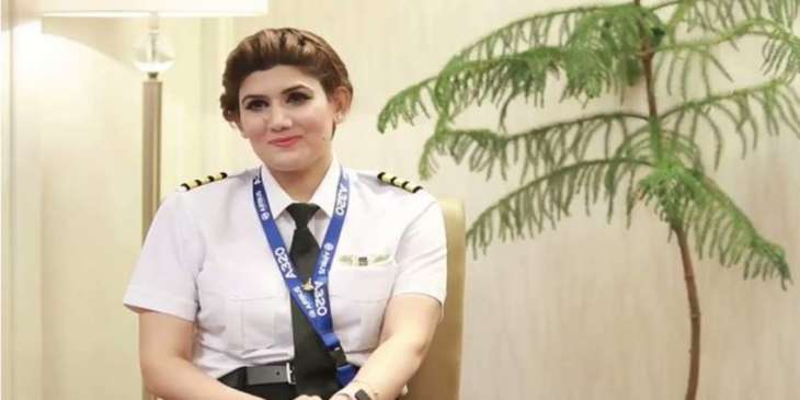 Maryam Mujtaba, first woman from AJK, to become commercial pilot