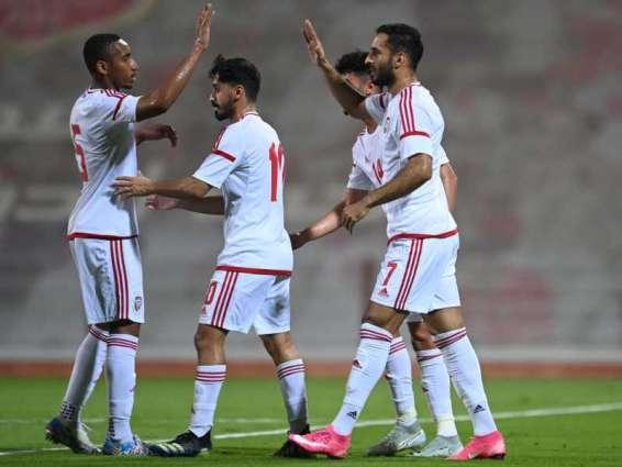 """"""" الأبيض"""" يهزم منتخب الأردن بخماسية مقابل هدف"""