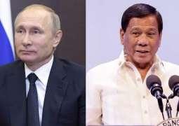 Putin, Duterte Discuss COVID-19 Response, Deliveries of Russian Vaccines - Kremlin